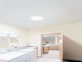 Iluminar con tubo solar Solatube cuarto sin ventanas